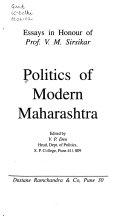 Politics of modern Maharashtra