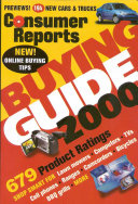 Consumer Reports 2000 Buying Guide