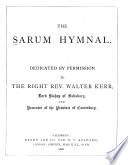The Sarum Hymnal