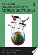 The Routledge Research Companion to Critical Geopolitics