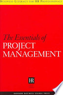 The Essentials Of Project Management : organisational work takes the form of projects -...