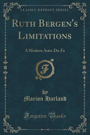 Ruth Bergen S Limitations book
