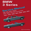 Bmw 3 Series Service Manual 1984 1990