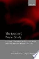 The Reason s Proper Study