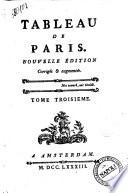 Tableau de Paris  Tome premier   10