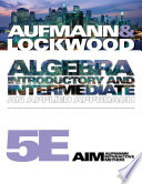 Algebra  Introductory and Intermediate  An Applied Approach