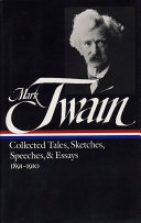 Collected tales  sketches  speeches   essays
