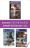 Harlequin Intrigue August 2015   Box Set 1 of 2