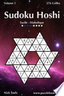 illustration Sudoku Hoshi - Facile à Diabolique - Volume 1 - 276 Grilles