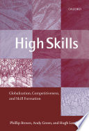 High Skills   Globalization  Competitiveness  and Skill Formation