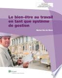 illustration du livre Le bien-être au travail en tant que système de gestion