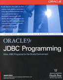 Oracle9i Jdbc Programming