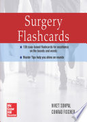 Master the Wards  Surgery Flashcards