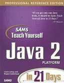 Sams Teach Yourself Java 2 Platform In 21 Days