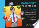 Manager s Pocketbook