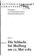 Die Schlacht bei Mailberg am 12  Mai 1082
