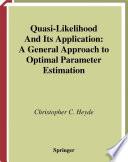 Quasi Likelihood And Its Application