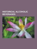 Historical Alcoholic Beverages