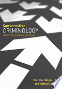 Conservative Criminology