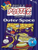 Build a 3 D Poster Coloring Book    Outer Space