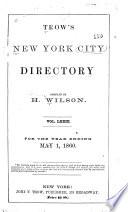 Trow's New York City Directory