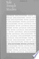 Encounters with Levinas