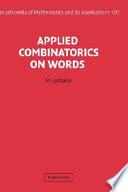 Applied Combinatorics on Words