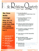 Public Relations Quarterly