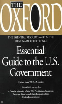 The Oxford Essential Guide To The U S Government