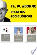 Pack Adorno Iii Escritos Sociol Gicos