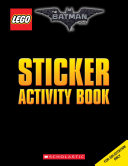 Sticker Activity Book  the Lego Batman Movie