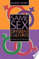 Same Sex  Different Cultures