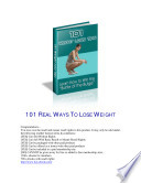 Lose 20 Pounds in 30 Days with 101 Weight Loss Tips + Plus Bonus