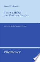Therese Huber und Emil von Herder