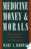 Medicine Money And Morals