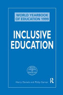 Inclusive Education  World Yearbook of Education 1999