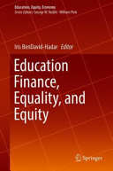 Education Finance  Equality  and Equity