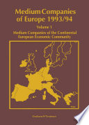 Medium Companies of Europe 1993 94