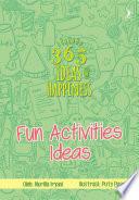 365 Ideas: Going Somewhere Ideas