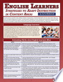 English Learners Strategies To Adapt Instruction In Content Areas