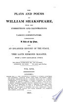 download ebook the plays and poems of william shakspeare: henry iv, pt. ii. henry v.-v. 18. henry vi, pt. i-iii. malone's dissertation pdf epub