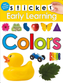 Sticker Early Learning  Colors