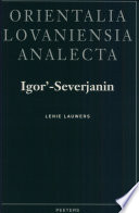 Igor  Severjanin