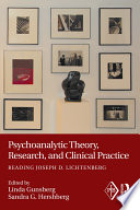 Psychoanalytic Theory Research And Clinical Practice