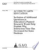 Access to Arts Education