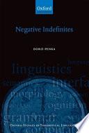 Negative Indefinites