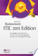 Basiswissen ITIL   2011 Edition
