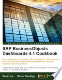 Sap Businessobjects Dashboards 4 1 Cookbook