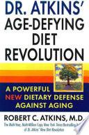 Dr Atkins Age Defying Diet Revolution