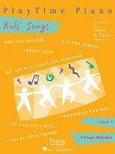 Playtime Piano Kids  Songs